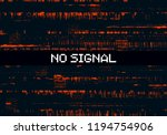 glitch background. abstract... | Shutterstock .eps vector #1194754906
