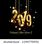 happy new year and merry... | Shutterstock .eps vector #1194770953