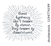 """illustration with quote """"great... 