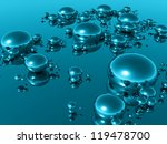 3d drops   Shutterstock . vector #119478700