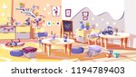 kid nursery room or... | Shutterstock .eps vector #1194789403