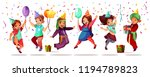 children of different...   Shutterstock .eps vector #1194789823