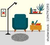 room decor  scandinavian design ...   Shutterstock .eps vector #1194791593