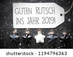 black christmas balls ... | Shutterstock . vector #1194796363