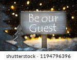 white christmas tree  text be... | Shutterstock . vector #1194796396