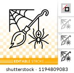 halloween thin line icon.... | Shutterstock .eps vector #1194809083