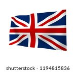 waving flag of the great... | Shutterstock . vector #1194815836