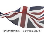 waving flag of the great... | Shutterstock . vector #1194816076