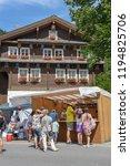engelberg  switzerland   31... | Shutterstock . vector #1194825706