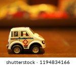 Ambulance On A Wooden Floor...