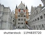 hohenschwangau  bavaria ... | Shutterstock . vector #1194835720