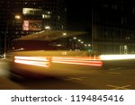 hamburg big city lights traffic ... | Shutterstock . vector #1194845416