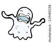 spooky ghost cartoon | Shutterstock .eps vector #119485258