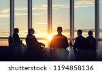 business teamwork concept....   Shutterstock . vector #1194858136