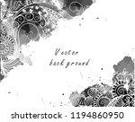 vector abstract ethnic...   Shutterstock .eps vector #1194860950