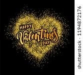 happy valentines day text... | Shutterstock .eps vector #1194872176