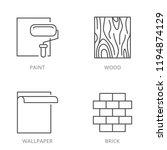 repair materials surfaces ... | Shutterstock .eps vector #1194874129