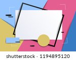 frame with copy space for text... | Shutterstock .eps vector #1194895120