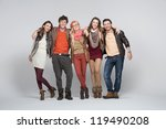 group of happy friends | Shutterstock . vector #119490208