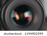 camera lens of professional... | Shutterstock . vector #1194902599