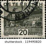 austria   circa 1930  a stamp... | Shutterstock . vector #119490820