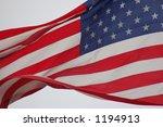 american flag detail | Shutterstock . vector #1194913