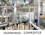 bottling plant   water bottling ... | Shutterstock . vector #1194929719