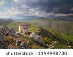 the old castle of calascio | Shutterstock . vector #1194948730