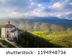 the old castle of calascio | Shutterstock . vector #1194948736