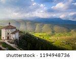 the old castle of calascio | Shutterstock . vector #1194948736