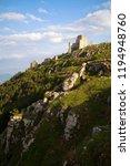 the old castle of calascio | Shutterstock . vector #1194948760