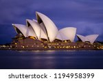 sydney  new south wales  ... | Shutterstock . vector #1194958399