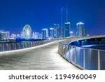 beautiful night view of golden... | Shutterstock . vector #1194960049
