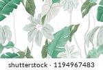 tropical forest seamless... | Shutterstock .eps vector #1194967483