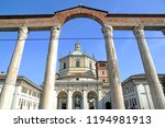 view of the colonne   basilica  ... | Shutterstock . vector #1194981913
