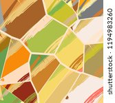 abstract collage asymmetric... | Shutterstock .eps vector #1194983260