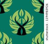 vector seamless floral pattern... | Shutterstock .eps vector #1194983926