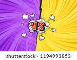 comic versus competitive... | Shutterstock .eps vector #1194993853