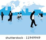 business life | Shutterstock .eps vector #11949949