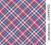 seamless tartan pattern | Shutterstock .eps vector #119499553