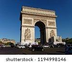 26 jun 2018   paris  france  ... | Shutterstock . vector #1194998146