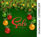 holiday background with... | Shutterstock .eps vector #1195001209
