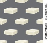 feta cheese seamless pattern....   Shutterstock . vector #1195005403