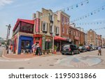 little italy district in... | Shutterstock . vector #1195031866