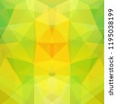 geometric pattern  polygon... | Shutterstock .eps vector #1195038199