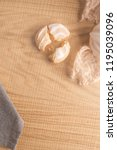 coockies with egg white cover.... | Shutterstock . vector #1195039096