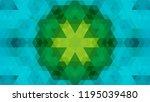 geometric design  mosaic of a... | Shutterstock .eps vector #1195039480