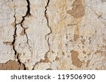 Cracked Clay Wall Background