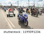st. petersburg  russia   4... | Shutterstock . vector #1195091236
