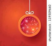 christmas 2 | Shutterstock .eps vector #119509660